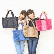 &LOVE HAPPYいっぱいのBigトートバッグ【QVC】40代・50代レディースファッション