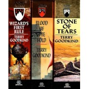 The Sword of Truth, Boxed Set I, Books 1-3: Wizard's First Rule, Stone of Tears, Blood of the Fold, Paperback