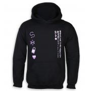 sweat-shirt avec capuche pour hommes Bring Me The Horizon - Amo Symbols - ROCK OFF - BMTHHD07MB
