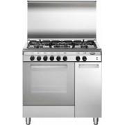GLEM UQ85GI3 LINEA UNICA cucina inox 80X50, forno multifunzione gas ventilato