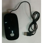 USB Optical Scroll Mouse - Black