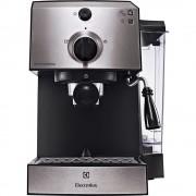 Espressor manual Electrolux EEA111, 1470 W, 15 bar, 1.25 l, Negru/Argintiu