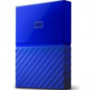 Твърд диск HDD 1TB USB 3.0 MyPassport, Син, WDBYNN0010BBL