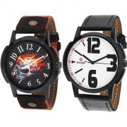 Evelyn wrist watch for men combo-EVE-382-376
