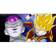 freiza and goku fights sticker poster|dragon ball z poster|anime poster|size:12x18 inch|multicolor