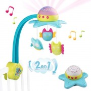 CARUSEL MUZICAL SMOBY COTOONS STAR 2 IN 1 - 7600110116