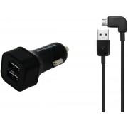 4,8A Autolader. 1 m Micro-USB haakse kabel, geschikt voor CAT Caterpillar. o.a. B10, B15, B15Q, B25, B30, B100, S30, S40, S50, S60