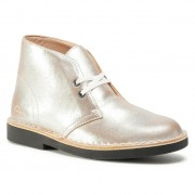 Боти CLARKS - Desert Boot 2 261556684 Silver Leather