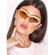 Le Specs Fluxus Solglasögon Guld