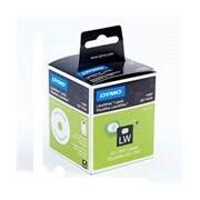 Dymo 14681 (S0719250) Etiquetas para CD/DVD Texto negro sobre blanco