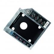 Adattatore SATA HDD Caddy per HDD/SSD da 9,5mm Nero