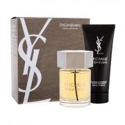 Yves Saint Laurent L´Homme confezione regalo Eau de Toilette 100 ml + doccia gel 100 ml uomo