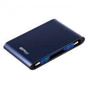 Hard Disk Esterno 1Tb Armor A80 USB3.0 3.1 Gen 1 1000Gb Blu Silicon Power