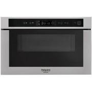 Cuptor cu microunde incorporabil MN 413 IX HA, 750 W, 22 l, Negru / Argintiu