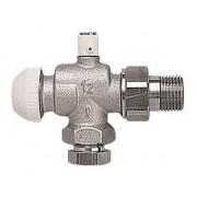 """Robinet cu ventil termostatic model colţar special, cu dezaerator HERZ-TS-90 1/2"""""""