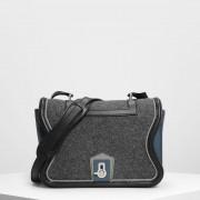 【SALE 30%OFF】クラシック サッチェルバック / Classic Satchel Bag (Grey) レディース