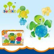 TOY-STATION Sunlike Bathtime pals Ocean play set (Tub Turtle)