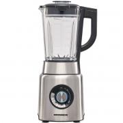 Blender Heinner HBL-1200XMC, 1200 W, 20.000 rpm, Extra safe lock, 6 lame, Functie smoothie, Zdrobire gheata, Inox
