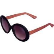 Phenomenal Oval Sunglasses(Black)