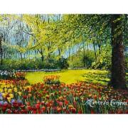 IMFPA Garden of Flowers Painting