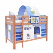 Dečiji krevet na sprat Mark Natur Space