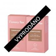TummyTox Tummyccino: kávový nápoj se zelenou kávou, gracinií, guaranou a čekankovou vlákninou pro lahodné a efektivní hubnutí plné energie. Program na 20 dní.