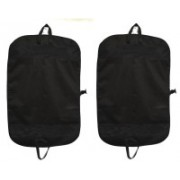 PRAHAN INTERNATIONAL Men's Coat Blazar Cover Bag Suit cover Pack of2 PIS-C2B011(Black)