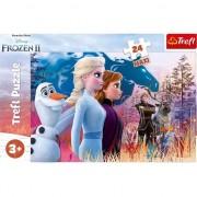 Puzzle Maxi Trefl, Disney Frozen II, Calatoria magica, 24 piese