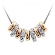 BAGISIMO Pozlacený náhrdelník