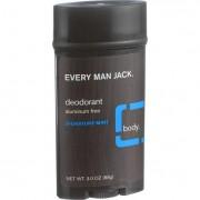 Every Man Jack Body Deodorant - Signature Mint - Aluminum Free - 3 oz