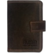 EL MIo Brand New Classic Natural Genuine Vintage Brown Leather Fashionable,Stylish and Designer Antique Royal 3+ 15 Card Holder(Set of 1, Brown)
