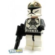 LEGO Star Wars LOOSE Mini Figure EPII Clone Wars Clone Gunner with Blaster