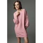 Sukienka Loose Louise - dirty pink