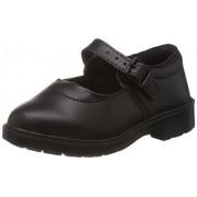 Prefect (from Liberty) Girl's Skoolgirl Black Formal Shoes - 7 kids UK