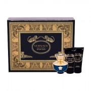Versace Pour Femme Dylan Blue confezione regalo eau de parfum 50 ml + latte corpo 50 ml + doccia gel 50 ml donna
