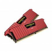 Corsair Vengeance LPX 16GB (2x8GB) DDR4 DRAM 2133MHz (PC4-17000) C13 Memory Kit - Red (CMK16GX4M2A2133C13R)