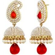 Penny Jewels Traditional Contemporary Fashion Designer Wedding Jhumki / Jhumka Earring Set For Women Girls