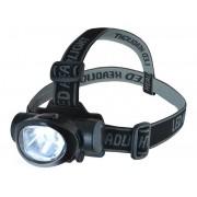 Lanterna pentru Cap Reglabila cu 6 LED-uri si 3 Moduri de Iluminare, Putere 3W