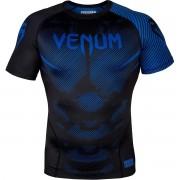 Venum No-Gi 2.0 korte mouw MMA compressie Rashguard - zwart/blauw