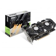 MSI GeForce GTX 1050 Ti OC - 4 GB