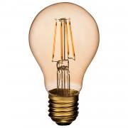 Airam Filament LED A60 Amber Normal, Dimbar