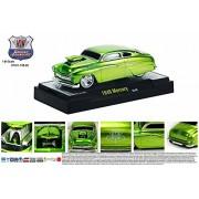 Castline M2 1949 Mercury Coupe, Green - 81161/11B 1/64 Scale Diecast Model Toy Car