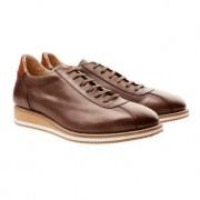 Cordwainer Edelsneaker, 42,5 - Nuss
