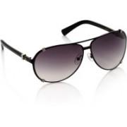 Louis Philippe Aviator Sunglasses(Grey, Brown)