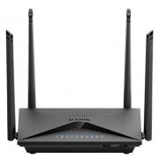 Router Wireless D-LINK DIR-853, Gigabit, Dual Band, 1300 Mbps, 4 Antene externe (Negru)