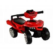 ATV pentru copii cu sunete si lumini Super Race Red