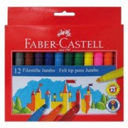 Carioca 12 culori jumbo Faber Castell 554312