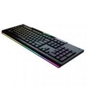 Клавиатура Cougar Aurora S, гейминг, RGB подсветка, черна, USB