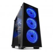 Nox CAJA ATX HUMMER TG USB 3.0 NEGRA