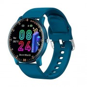 DCU Azul Reloj Inteligente Sport Smartwatch Frecuencia Cardíaca Multideporte Sueño
